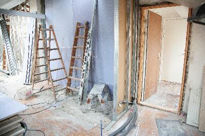 Home renovation in home